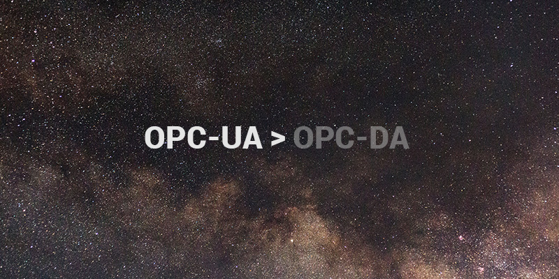 OPC-UA OPC DA